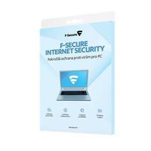 F-Secure Internet Security na 2 roky - pro 3 uživ., CZ, - elektronicky