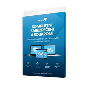 F-Secure Total Security (1 rok, 3 zařízení) - CZ elektronicky