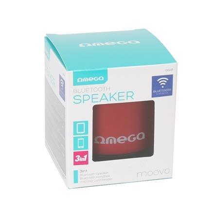 OMEGA SPEAKER OG47O ALU BLUETOOTH V3.0 ORANGE [42645]