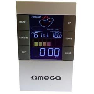 OMEGA digitální meteostanice OWS-26C barevný displej