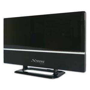 STRONG digitální DVB-T/T2 anténa/ LTE filtr/ vnitřní/ zisk 20 dB za VHF/16 dB za UHF/ černá