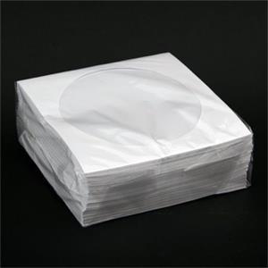 PLATINET papírová obálka na CD s okýnkem 100ks