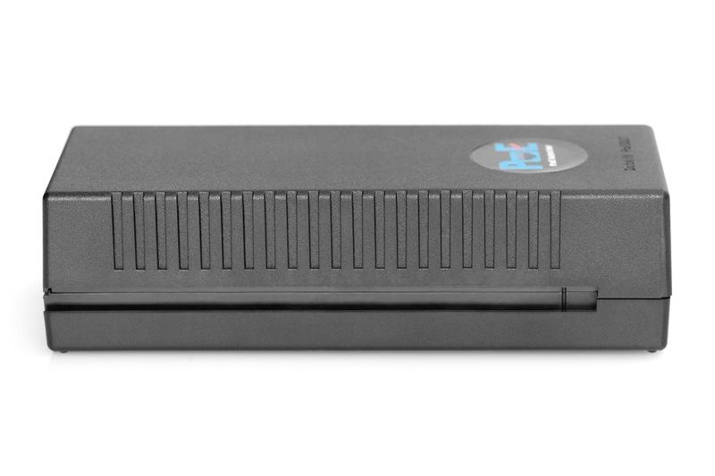 DIGITUS Injektor 10 Gigabit Ethernet PoE +, napájecí piny 802.3at: 3/6 (+), 1/2 (-), 30 W