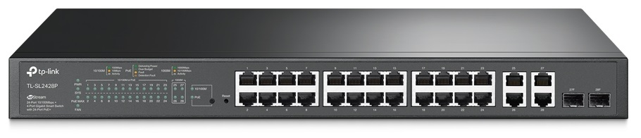 TP-Link TL-SL2428P JetStream PoE Switch