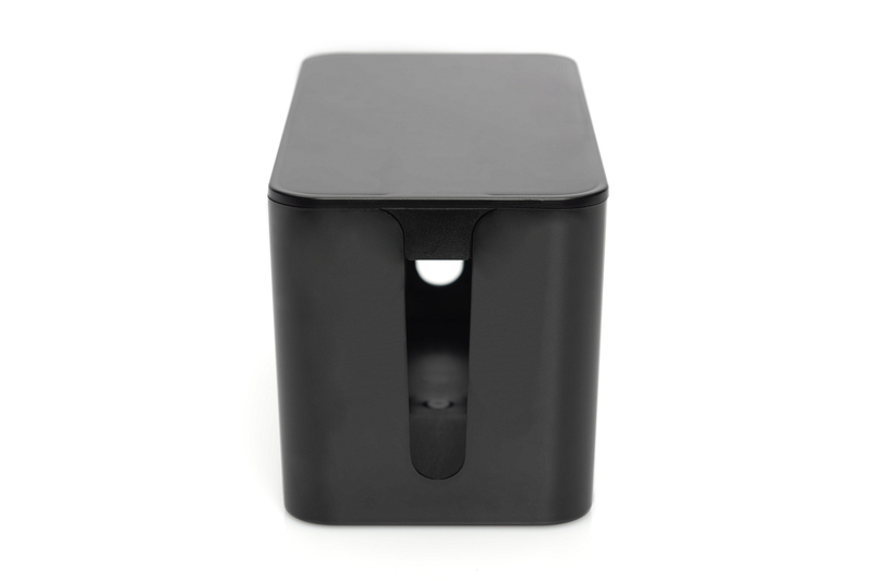 DIGITUS kabelový box S, černý