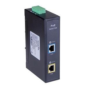 MaxLink DIN60F PoE injektor - 44-57VDC, 802.3af/at/bt, 55V, 1.1A, 60W, 1xSFP, 1Gbit