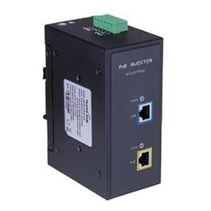 MaxLink DIN30-240 PoE injektor - 100-240VAC/ 44-57VDC, 802.3af/at, 55V, 550mA, 30W, 1Gbit