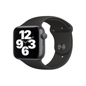 Apple Watch Series SE 44mm Cellular vesmírně šedý hliník s černým sportovním řemínkem