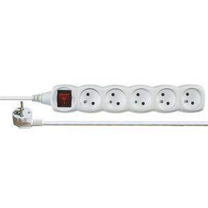 Emos prodlužovací šňůra P1517 - 5 zásuvek, 7m, s vypínačem