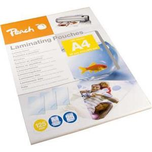 PEACH laminovací folie A4 (216x303mm) Laminating Pouch, 125mic, 25ks