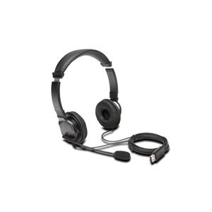 KENSINGTON USB Hi-Fi sluchátka s mikrofonem a ovládáním hlasitosti