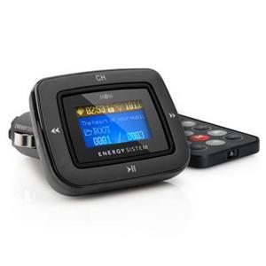 ENERGY CAR MP3 1100 DARK IRON, MP3 do auta - FM vysílač, dálk. ovl.,SD(HC), USB,3,5mm jack