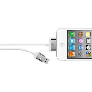 Belkin 30-pin kabel MIXIT pro Apple, 2m bílý