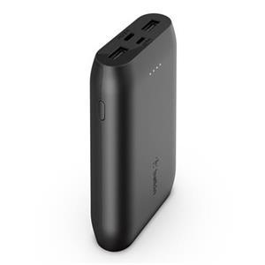 Belkin USB-C PowerBanka, 10000mAh, víceportová, černá