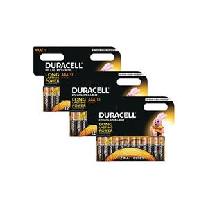 Duracell MN2400-X36 Plus Power AAA - 36 Pack