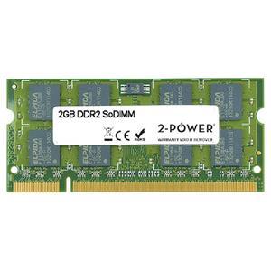 2-Power 2GB MultiSpeed 533/667/800 MHz DDR2 SoDIMM 2Rx8 (DOŽIVOTNÍ ZÁRUKA)
