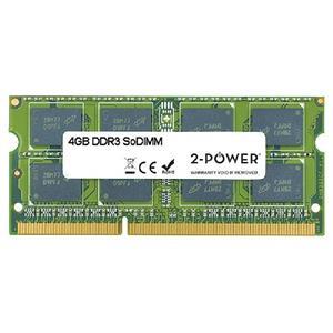 2-Power 4GB MultiSpeed 1066/1333/1600 MHz DDR3 SoDIMM 2Rx8 (1.5V / 1.35V) (DOŽIVOTNÍ ZÁRUKA)