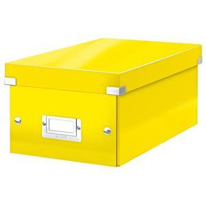 Krabice na DVD Leitz Click&Store, žlutá