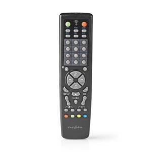 Nedis TVRC2100BK - Univerzální dálkový ovladač   Předem naprogramovaný   Ovládání 10 Zařízení