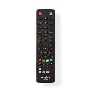 Nedis TVRC2110BK - Univerzální dálkový ovladač   Předem naprogramovaný   Ovládání 1 Zařízení