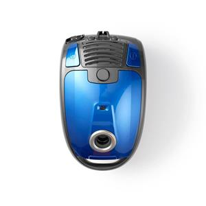 Nedis VCBG550BU - Vysavač | se Sáčkem | 700 W | Kartáč na Parkety | Kapacita Prachové Nádoby 3,5 l | Modrý