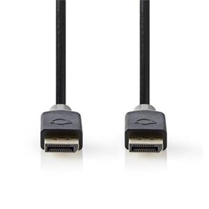 Nedis CCBW37014AT20 - Kabel DisplayPort 1.4   Zástrčka - Zástrčka   2 m   Antracit