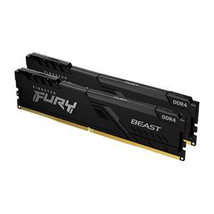 KINGSTON 16GB 3000MHz DDR4 CL15 DIMM (Kit of 2) FURY Beast Black