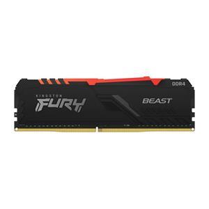 KINGSTON 8GB 3000MHz DDR4 CL15 DIMM FURY Beast RGB