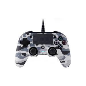 Nacon Wired Compact Controller - grey camo (PS4)