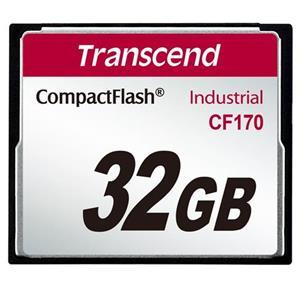 Transcend 32GB INDUSTRIAL CF CARD CF170 paměťová karta (MLC)