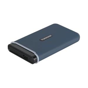 Transcend ESD370C 1TB USB 3.1 Gen2 (USB-C) Externí Anti-Shock SSD disk (3D TLC), 1050MB/R, 950MB/W, modrý