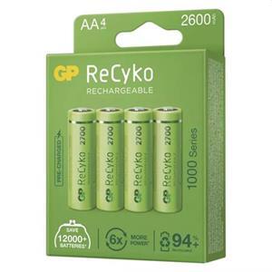 GP AA ReCyko 2700 series, nabíjecí, 4 ks PP