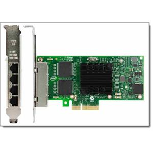 Lenovo ThinkSystem Intel I350-T4 PCIe 1Gb 4-Port RJ45 Ethernet Adapter