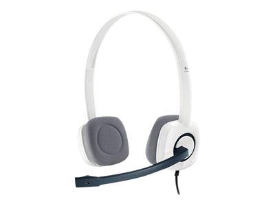 Náhlavní sada Logitech Stereo Headset H150, Coconut