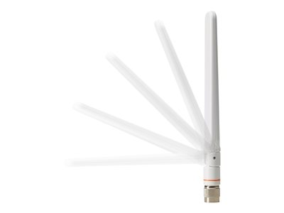 Cisco Aironet Short Dual-Band Omni Antenna, Peak Gain 3 dBi @ 2.4. GHz and 5 dBi @ 5 GHz