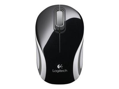 myš Logitech Wireless Mini Mouse M187 černá