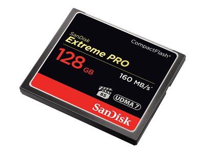 SanDisk Compact Flash 128GB Extreme Pro (160MB/s) VPG 65, UDMA 7
