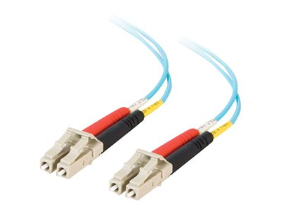 C2G LC-LC 10Gb 50/125 OM3 Duplex Multimode PVC Fiber Optic Cable (LSZH)