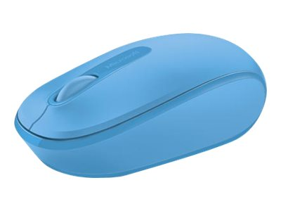 MS WLRS Mobile Mouse 1850 CyanBlue, Microsoft Wireless Mobile Mouse 1850 CyanBlue