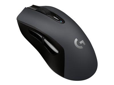 Logitech myš Gaming G603 LIGHTSPEED WL Gaming Mouse EER2 - bezdrátová - 6 tlačítek,12000dpi - černá