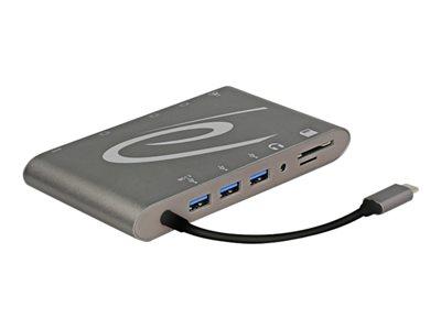 Delock USB Type-C 3.1 Docking Station 4K