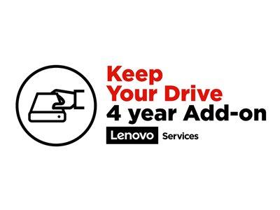 LENOVO záruka ThinkPad elektronická - z délky Multiple  >>>  4 roky Keep your Drive
