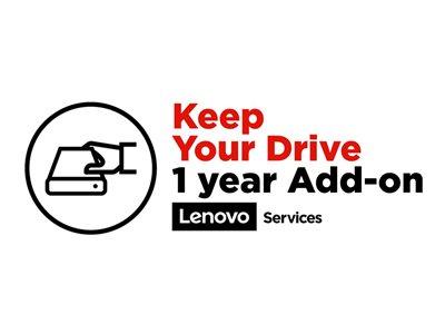 LENOVO záruka ThinkPad elektronická - z délky Multiple  >>>  1 rok Keep your Drive