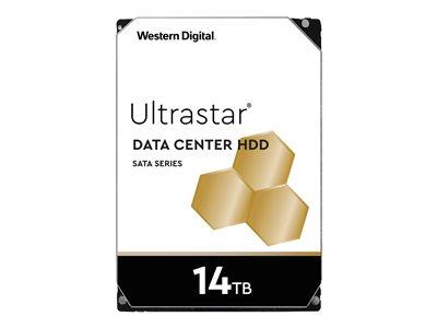 Western Digital Ultrastar® HDD 14TB (WUH721414ALE6L4) DC HC530 3.5in 26.1MM 512MB 7200RPM SATA 512E SE (GOLD)