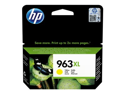 HP 963XL High Yield Yellow Original Ink Cartridge