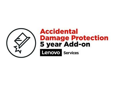 LENOVO záruka ThinkPad elektronická - z délky Multiple  >>>  5 let Accidental Damage Protection
