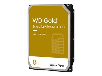 HDD 8TB WD8004FRYZ Gold 256MB SATAIII 7200rpm