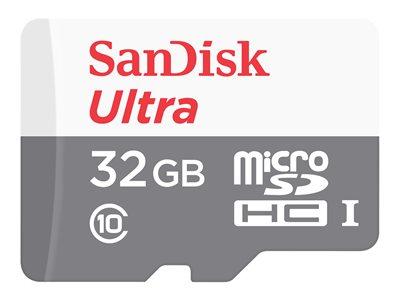 SanDisk Ultra microSDHC 32GB 100MB/s + adaptér