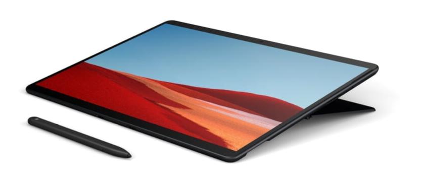 Microsoft Surface Pro X - SQ1 / 8GB / 128GB / LTE, Black; Commercial