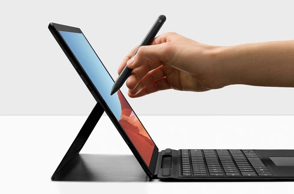 Microsoft Surface Pro X Keyboard + Pen bundle (Black), Commercial, ENG